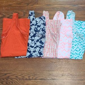 Lot of 5 Maurices tank tops